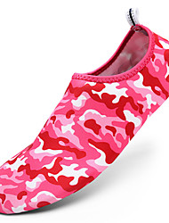 cheap -Women's Athletic Shoes Upstream shoes Light Soles Fabric Spring Summer Outdoor Flat Heel Ruby Blue Black/Red Flat