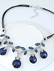 cheap -Women's Statement Necklace - Fashion, Euramerican Dark Blue, Rainbow Necklace Jewelry For Party