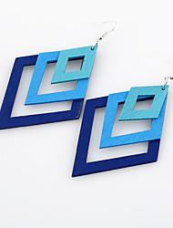economico -Per donna Orecchino - Personalizzato, Stile semplice, Euramerican Viola / Caffè / Blu Per Matrimonio / Feste / Compleanno