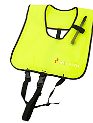 Life Jacket Waterproof Swimming Surfing Sailing Canvas Solid Classic Light Green