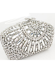 Women Bags All Seasons PU Evening Bag for Event/Party Silver