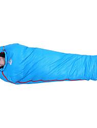 cheap -Shamocamel® Sleeping Bag Mummy Bag Duck Down -3 -17 -30°C Keep Warm Moistureproof/Moisture Permeability Ultra Light (UL) Camping Outdoor