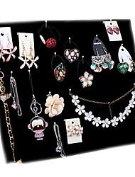 Jewelry Displays Flannelette / Paper Geometric Black