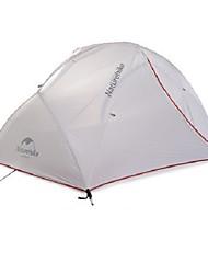 Naturehike 2 Personen Zelt Doppel Camping Zelt Einzimmer Zelte für Rucksackreisen Regendicht 4 Saison für Camping Reisen CM