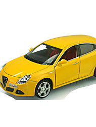 cheap -CAIPO Toys Pull Back Vehicles Race Car Toys Music & Light Car Plastic Metal Pieces Unisex Gift
