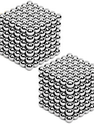 2*216PCS 3mm Same Color Silver&Gold DIY Neodymium Magnetic Balls Buck Ball Spheres Beads Magic Cube Magnets Puzzle Toy(within 1 Box 2 Color Choose)