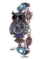 cheap -Vintage Quartz Watches Luxury Brand Owl Fashion Women Bracelet Watch Designer Watches Beautiful Girl Gift Watch