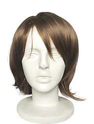 Hot Sales Capless Short Wavy Synthetic Wigs Cosplay Wavy Anime Wig Fashion Wig