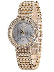 cheap -Women's Fashion Watch Casual Watch Quartz Hot Sale Alloy Band Creative Casual Cool Gold