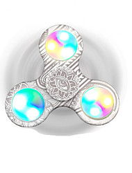 cheap -Fidget Spinner Hand Spinner Relieves ADD, ADHD, Anxiety, Autism Office Desk Toys Focus Toy Stress and Anxiety Relief for Killing Time LED