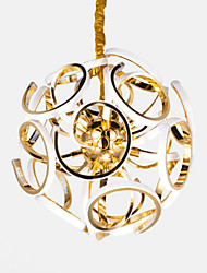 cheap -Pendant Light ,  Modern/Contemporary Traditional/Classic Electroplated Feature for LED Mini Style AluminumLiving Room Dining Room Study