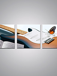 cheap -Stretched Canvas Print Still Life Modern,Three Panels Canvas Horizontal Print Wall Decor For Home Decoration