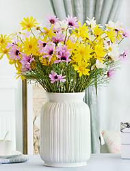 Недорогие -Искусственные Цветы 2 Филиал Простой стиль Ромашки Букеты на стол / Не включено