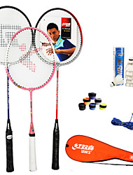 Raquetes para Badminton Anti-desgaste Durável Fibra de Carbono 1 Pças. para