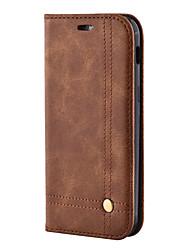 economico -Custodia Per Samsung Galaxy A5(2017) A3(2017) A portafoglio Porta-carte di credito Con supporto Con chiusura magnetica A calamita