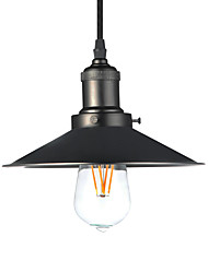 Vintage Loft Black Metal Pendant Lights Living Room Dining Room Entry Hallway Cafe Bar light Fixture