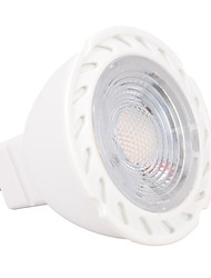 cheap -5W GU5.3(MR16) LED Spotlight MR16 6 SMD 2835 430-450 lm Warm White Cold White K Dimmable AC/DC 12 V