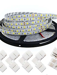 abordables -KWB Bandes Lumineuses LED Flexibles 300 LED Blanc Chaud Blanc Découpable Intensité Réglable Auto-Adhésives Pour Véhicules Connectible DC