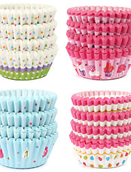 100Pcs High Quality Round Shape Paper Muffin Cases Cake Cupcake Liner Baking Mold Bakeware Maker Mold Tray Baking