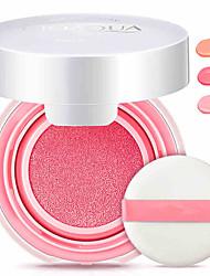 billige rødme-3 farger Kaki Rødme Concealer / Contour 1 pcs Tørr / Våt / Kombinasjon Dekning / Concealer / Naturlig Ansikt Sminke kosmetisk