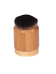 Pincel para Blush Pincel para Pó Pincel para Base Pêlo Sintético Profissional sintético Ecológico Portátil Madeira Rosto
