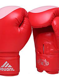 Недорогие -Боксерские перчатки для Бокс Полный палец Защитный Кожа Нейлон