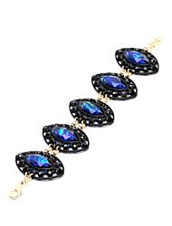 abordables -Mujer Cadenas y esclavas - Moda Pulseras y Brazaletes Azul Para Regalos de Navidad
