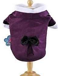 economico -Cane T-shirt Abbigliamento per cani Romantico Casual Di tendenza Zucca Blu scuro Viola Costume Per animali domestici
