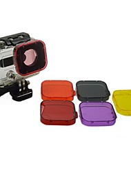 cheap -Accessories Dive Filter High Quality For Action Camera Gopro 3 Sports DV Diving
