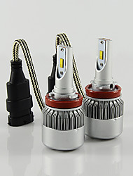 C6 H11 LED HEADLIGHT for CAR with 2SIDE goods quality CHIPS 36W POWER