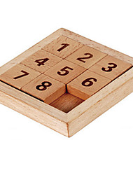 cheap -Board Game Toys Square Wood Pieces Unisex Gift