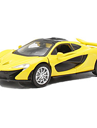 cheap -Toy Cars Model Car Race Car Toys Simulation Pull Back Vehicles Music & Light Toys Metal Alloy Metal Pieces Children's Unisex Boys' Gift