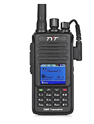 cheap -TYT MD-390 Walkie Talkie Handheld Voice Prompt Encryption CTCSS/CDCSS Group Call LCD Display Scan 1000 2200mAh Walkie Talkie Two Way Radio