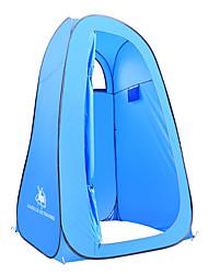 Недорогие -1 человек Душевые палатки На открытом воздухе Водонепроницаемость С защитой от ветра Дожденепроницаемый Однослойный Палатка 2000-3000 mm для Рыбалка Пешеходный туризм Походы