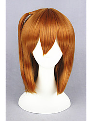 cheap -Costume Wigs / Synthetic Wig Straight Blonde Women's Capless Carnival Wig / Halloween Wig / Cosplay Wig Short Synthetic Hair