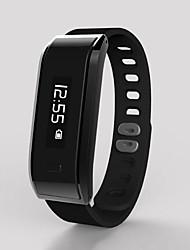 Braccialetto intelligente / smarwatch / monitor di frequenza cardiaca wristband braccialetto dello schermo di colore dello schermo di