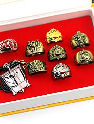 preiswerte -Mehre Accessoires Inspiriert von Cosplay Son Goku Anime Cosplay Accessoires Halsketten Ring Legierung