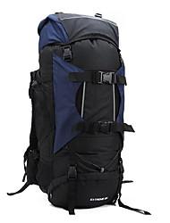80 L Sac à Dos de Randonnée Camping & Randonnée Voyage Etanche Vestimentaire Résistant aux Chocs Multifonctionnel