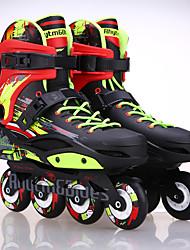 Adults' Inline Skates Adjustable White/Black