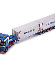preiswerte -Spielzeug-Autos Modellauto Lastwagen Helikopter Spielzeuge Simulation LKW Spielzeuge Metalllegierung Metal Stücke Kinder Jungen Geschenk