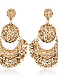 Boucles d'oreille goutte Pendant Alliage Or Argent Bijoux Pour Mariage Soirée Anniversaire Quotidien Décontracté 1 paire