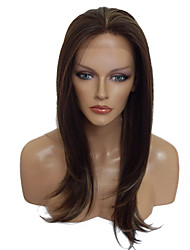 cheap -Brown Wig Lace Front Wig Long Straight Costume Wigs Hairstyle For Women