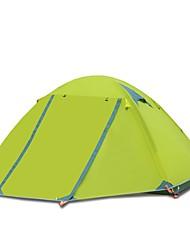 FLYTOP 2 persone Tenda Doppio Tenda da campeggio Una camera Ompermeabile Anti-pioggia per Campeggio Viaggi CM