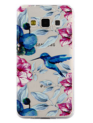 For Samsung Galaxy A3 A5 (2017) Case Cover Kingfisher Pattern Drop Glue Varnish High Quality TPU Material Phone Case A3 A5