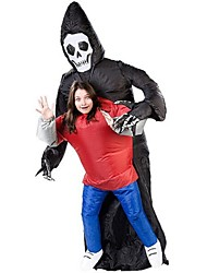 cheap -Batik Tokyo Ghoul Attack On Titan Inflatable Ghost Costume Halloween Skeleton Killer Suit Inflatable Grim Reaper Death Costume