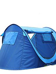 preiswerte -2 Personen Zelt Einzeln Camping Zelt Einzimmer Pop-up-Zelt Feuchtigkeitsundurchlässig Wasserdicht Regendicht Atmungsaktivität für Wandern