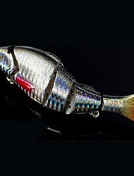 """2 pcs Poissons nageur/Leurre dur leurres de pêche Brochet Argent Rouge Vert Bouteille g/Once,120 mm/4-3/4"""" pouce,Métal Pêche d'appât"""