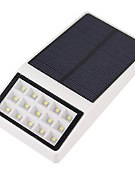 cheap -1PCS Outdoor Solar Powered 15 LED Security Wall Mount Garden Lights Pathway Yard Lamp