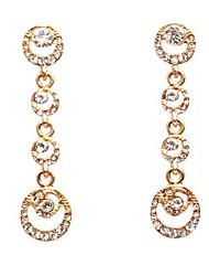 Dråbeøreringe Mode Akryl Legering Geometrisk form Smykker For Bryllup 1 par