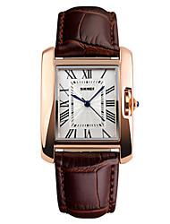cheap -Skmei® Women Fashion Quartz Leather Strap Wrist Watch 30m Waterproof Assorted Colors Cool Watches Unique Watches